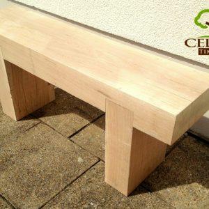 10x5 Oak Garden Bench