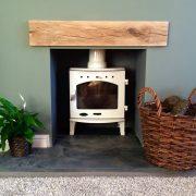 Oak Beam Fireplace Mantle Piece