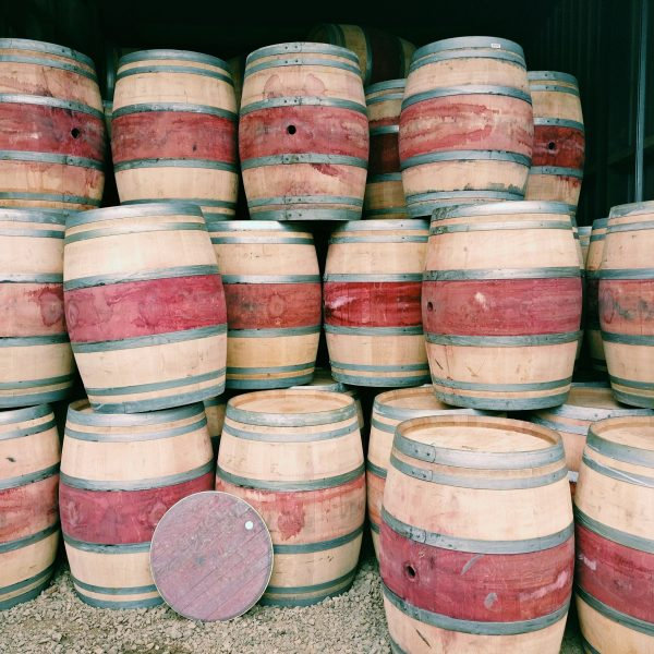Reclaimed Oak Wine Barrels