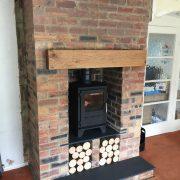 Oak Beam Fireplace