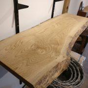 Two Waney Edge Kiln Dried Oak Board