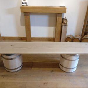 Planed Only Kiln Dried Oak Shelf