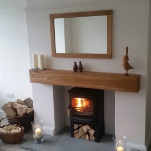 Oak Beam Mantle Piece