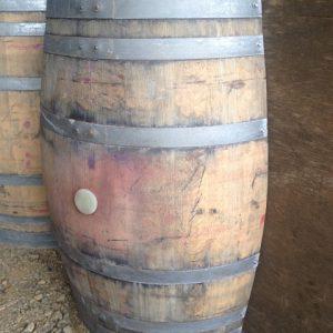 Lengthway Cut Oak Wine barrel Planter