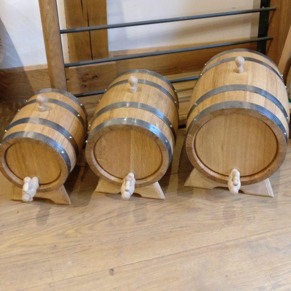 Oak Barrel Kegs