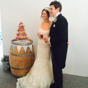Wedding Barrel Cake Stand