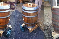 Oak Barrel Water Butts