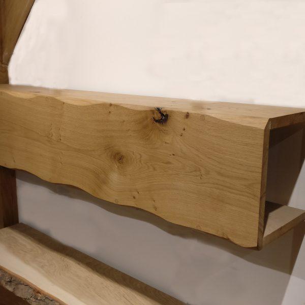 Kiln Dried Oak Box Beam
