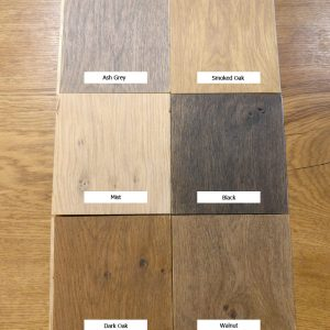 Coloured Oak Oils - Black, Ash Grey, Mist, Smoked Oak, Dark Oak, Walnut