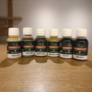 Coloured Oak Oils