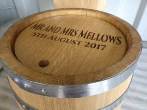 Mr and Mrs Mellows Personalised Wedding Gift