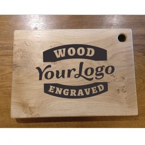 Personalised Engraved Oak Chopping Board with No Handles