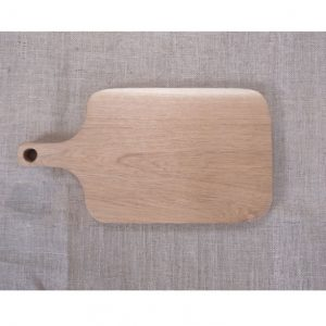 Chopping Board with Wooden Handle - Blank
