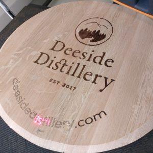 Peronalised engraved barrel lid sign