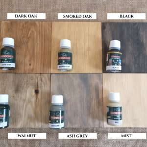 Coloured Protective Pine Oils